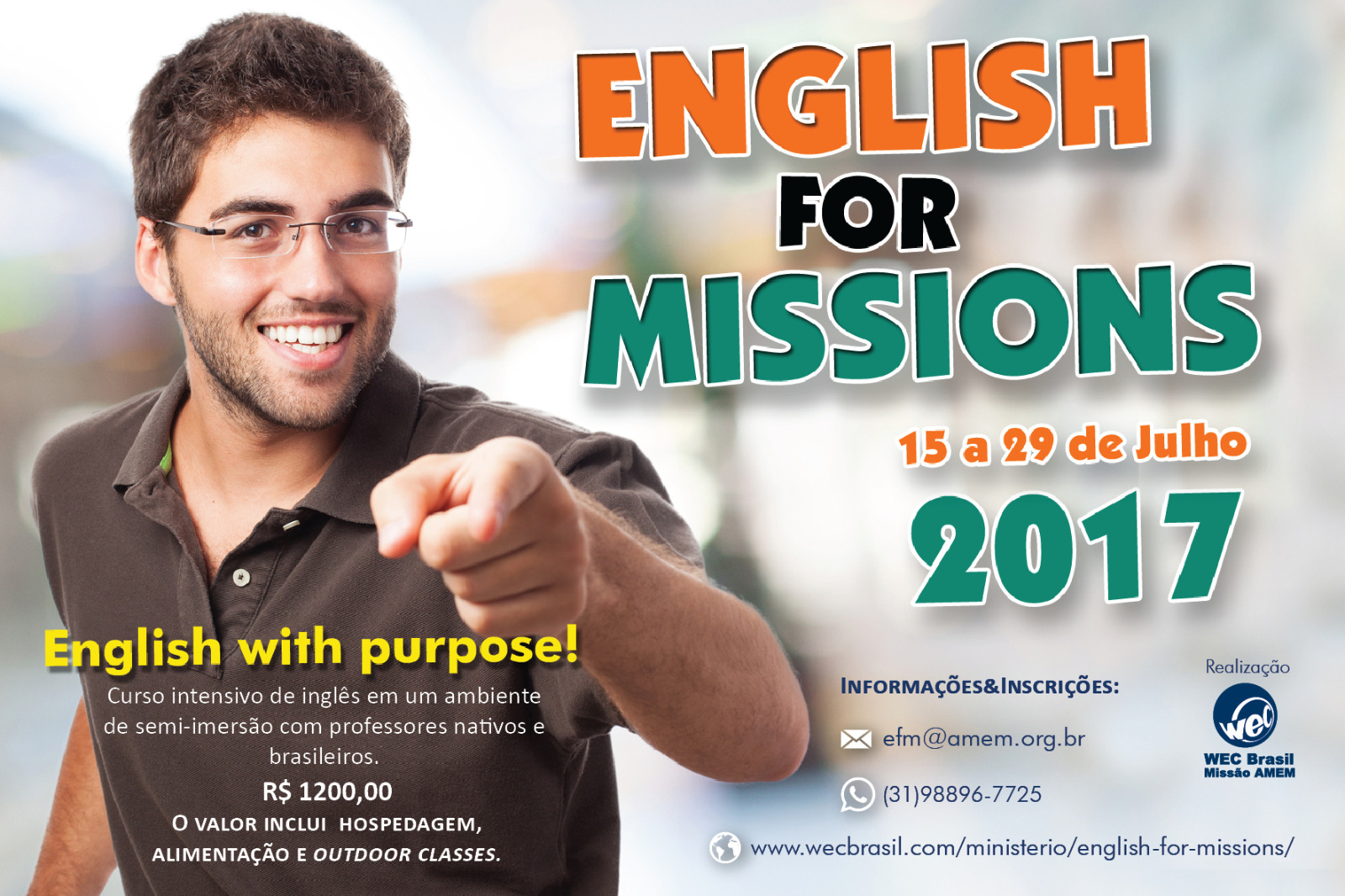English for Missions 2017