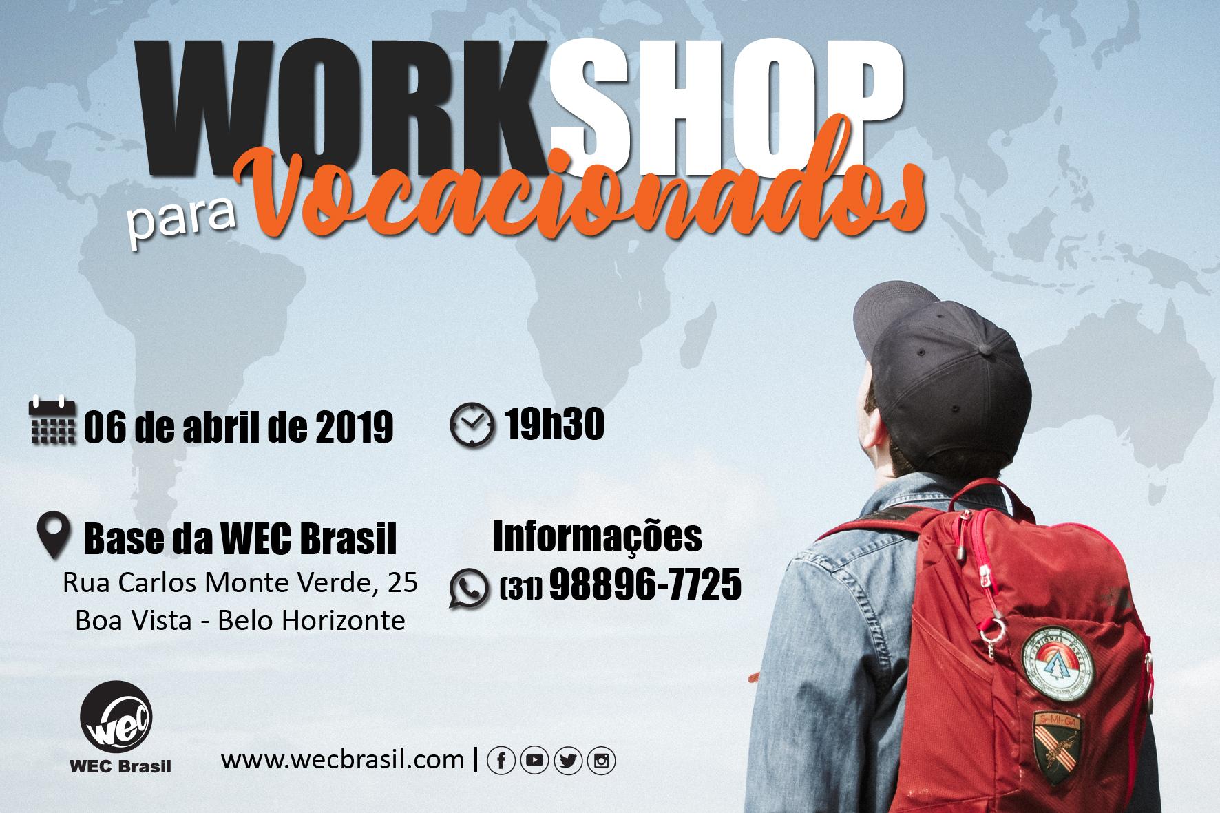 WorkShop Vocacionados 2019