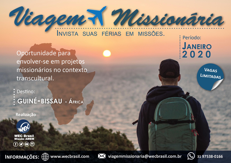 viagem missionária 2020